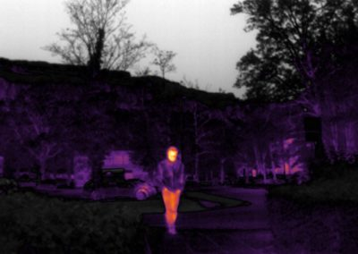 thermal infrared vision applications : security - intrusion detection