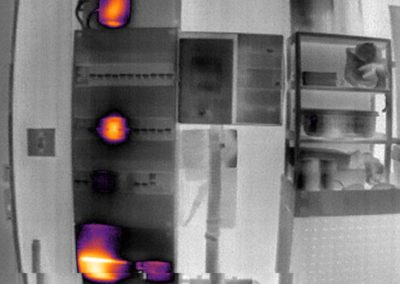 thermal infrared vision applications ; thermography - Energy metering